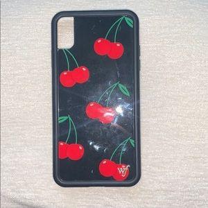 Wildflower cherry case